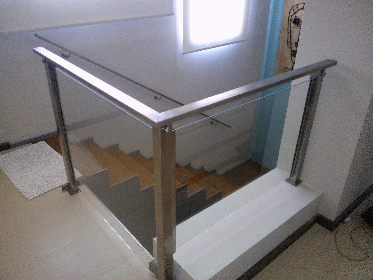 Barandas de vidrio para balcones free barandilla exterior - Barandas de escaleras ...